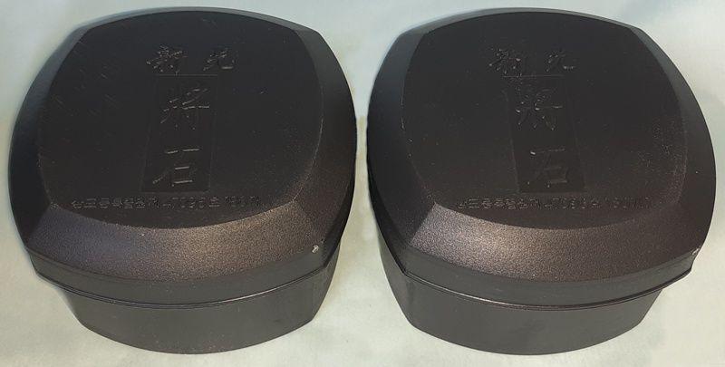 Skleněné kameny, 8 mm, 180+180, v plastových dózách