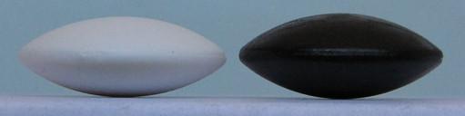 Plastové kameny, 8,5 mm, 90+90