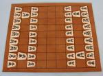 Shogi - japonské šachy - koženková deska