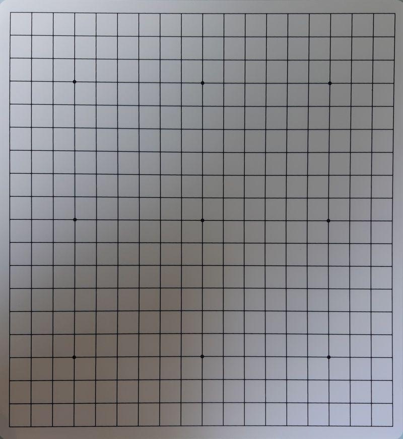 Plastová deska 19x19 + 13x13, oboustranná, tvrdá