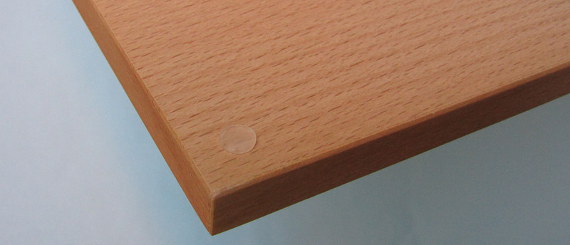 Dřevěná deska skládací s panty 19x19